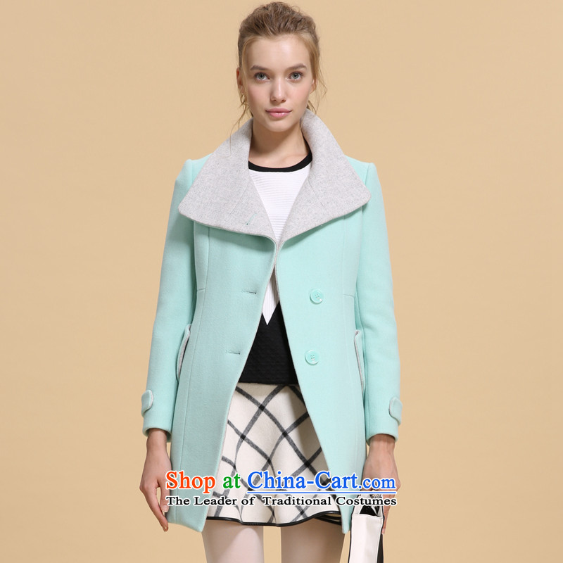 Song Leah GOELIA _winter_, the size is Foutune of the jacket燝06_�NJ6E37AG06L light green