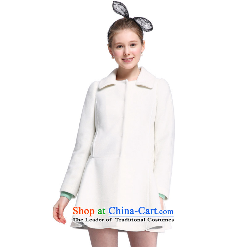 Song Leah _GOELIA_ Foutune of skirt- W03 m gross? jacket 14DE6E9WAW03S White