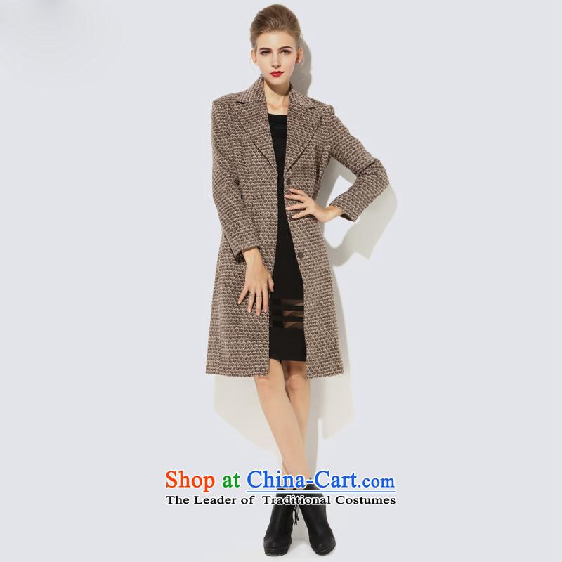 Consideration Lisa _LISHA lapel of Sau San_ Video thin hair a wool coat card its LS15C5003 L