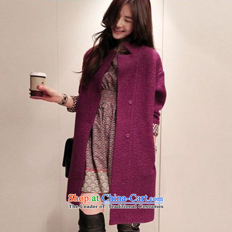 Skye isle爀legant燱9140803 a wool coat of purple XL