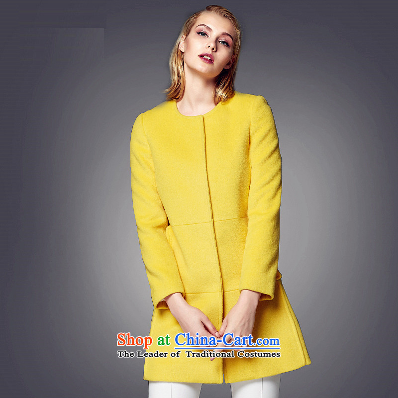 Lily elegance. Long hair? S LL214407005 yellow jacket