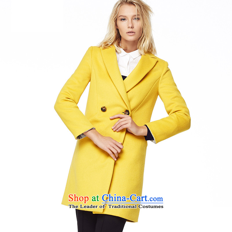 The European site and stylish lily gross coats yellow L LL214407004?