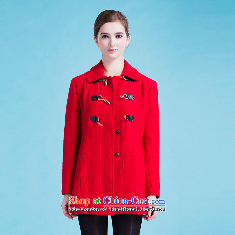 Blue silk Doi _gross_? jacket lansda L10008B2 red L