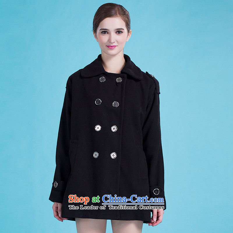Blue silk Doi _lansda_ female jackets L10164A7 Black XL