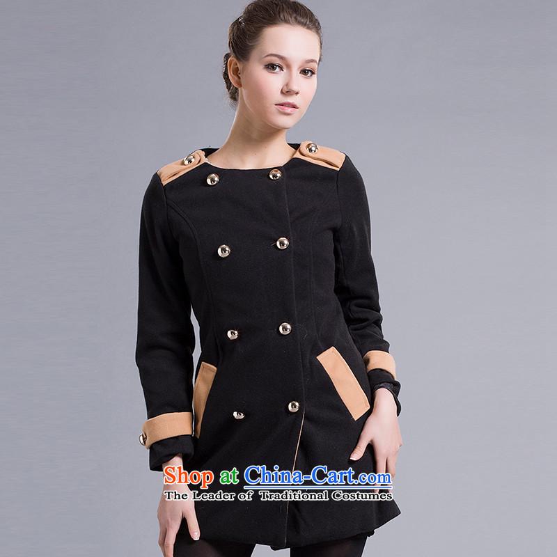 Stephen Ni _female_ stephanie jackets燬WT700460100燽lack燤