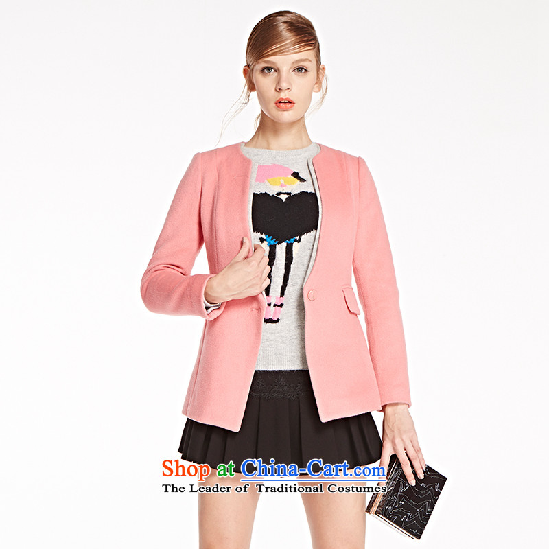 The concept of child-care _winter coats of paipuer_ V-Neck long-sleeved jacket燚D16501R3 gross? pink XL