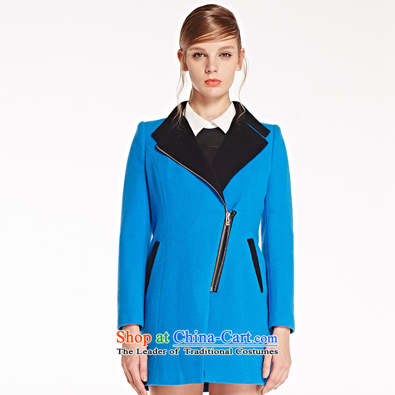 The concept of child-care _winter coats of paipuer_ Zip Jacket is personalized gross燚D61570B5 blue S