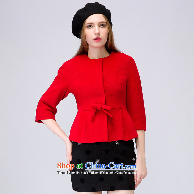 The concept of child-care _paipuer_ long-sleeved sweater winter, elegant aristocratic燚D11500R1 gross? Jacket Red M