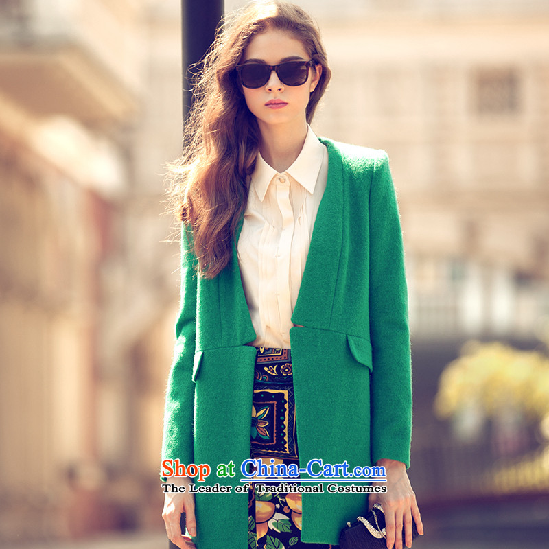 The concept of child-care _gross_? coats paipuer winter coats of leisure gross?燙D11299L1 green L