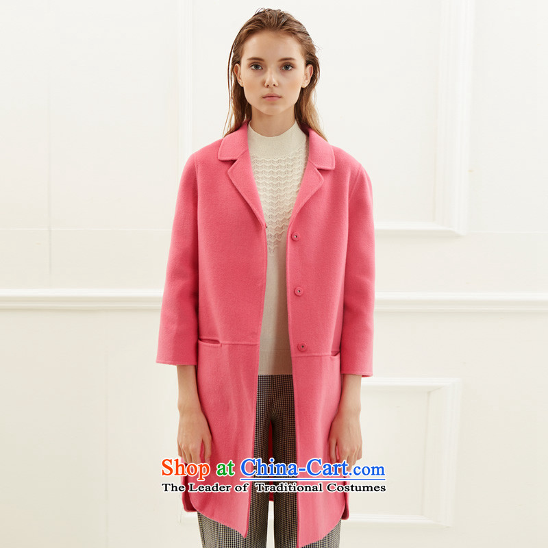Po Chong (BAOCHUANG) Ms. 6922A741010 better red double-side coats and stylish XXL