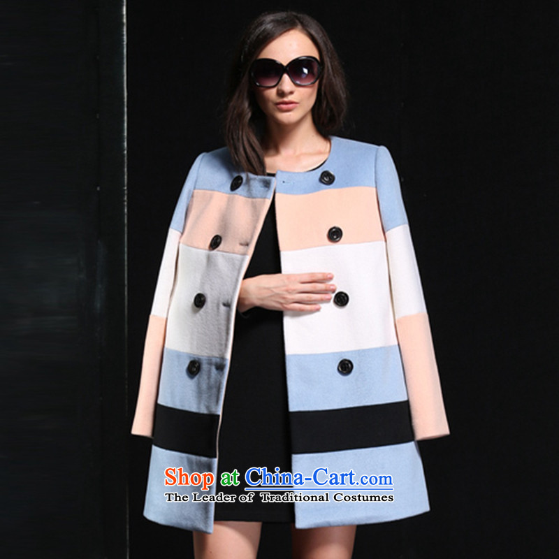 The breakdown of�15 winter clothing New England wool coat 1144314021 gross? iceberg blue燲L