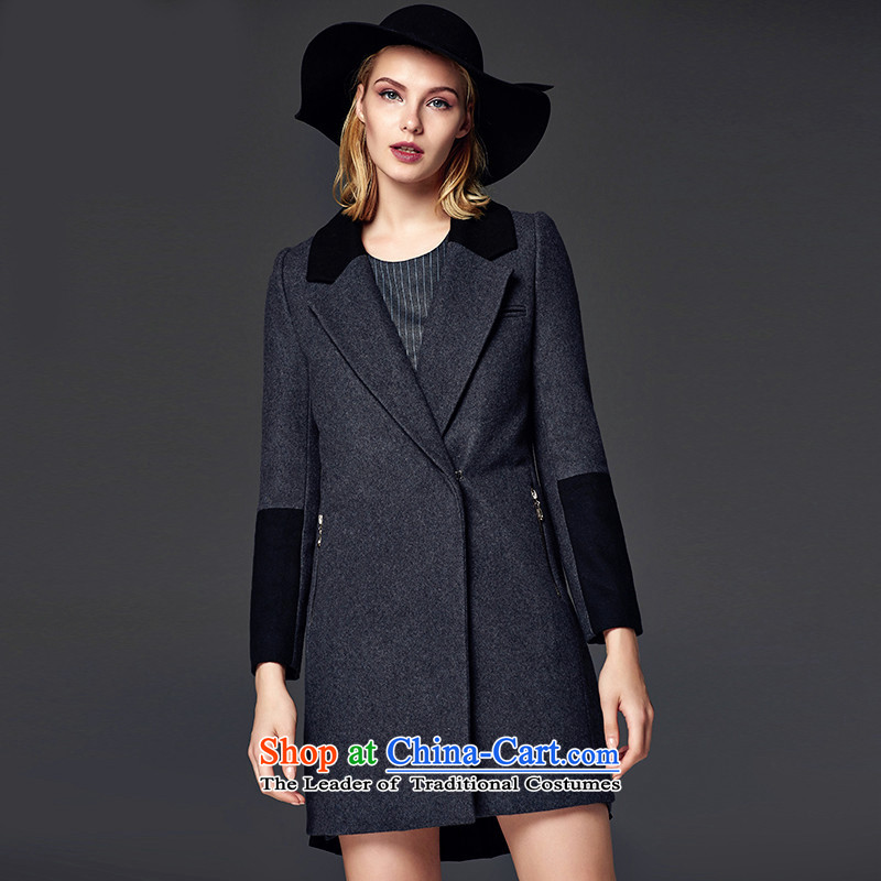 Lily color plane are so gross coats straight gray LL214407019 XL
