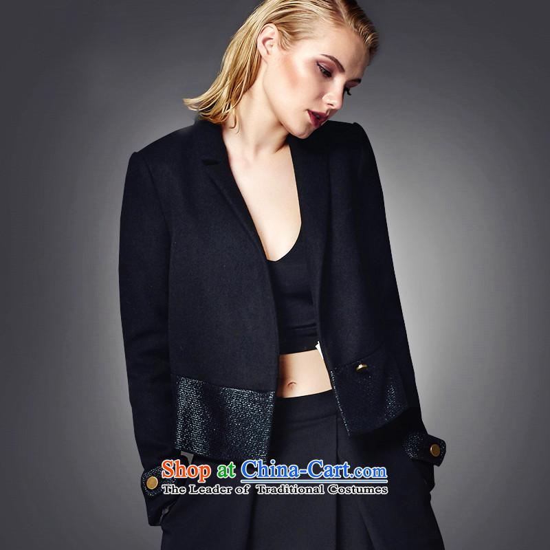Lily minimalist short of the amount so black M LL215307007 Coats