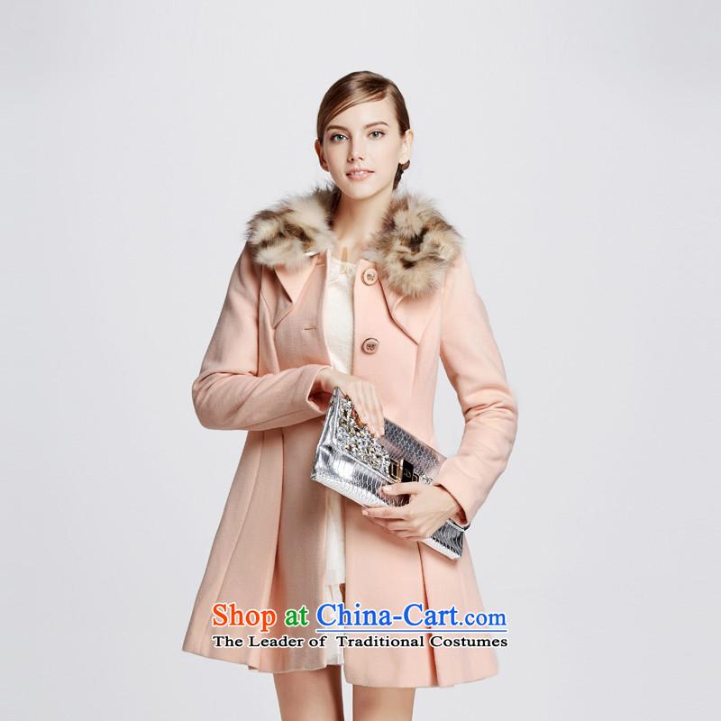 Chaplain Mai-mai _CHIU SHUI_ long coats of pink燲L 1341E122014?