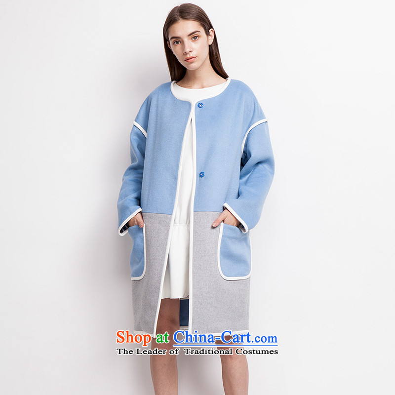 Send _EUROPRIMO_ energy duplex stitching燛UEQD523 coats爏kyblue gross? group燬