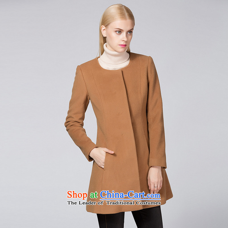 Ditto D13DR594 autumn and winter new stylish simplicity in long coats gross and Color M?