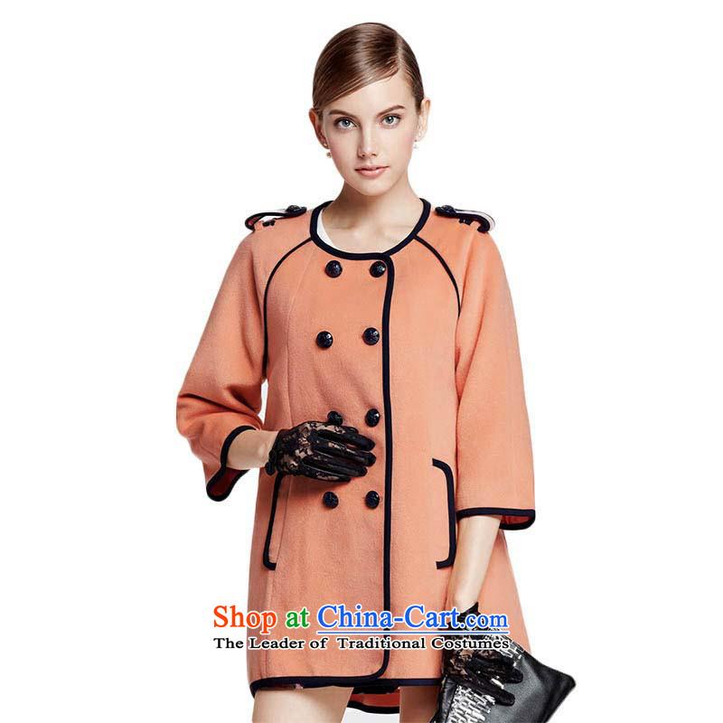 Chaplain Mai-mai (CHIU SHUI) Double-sleeved jacket coat 7 T-shirt bare toner/Toner orange XL 634112115