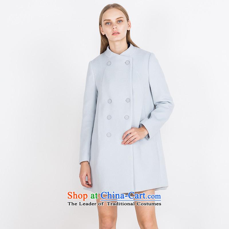 Send A _EUROPRIMO_ energy collar coatsEUEQD552?water gross blueL