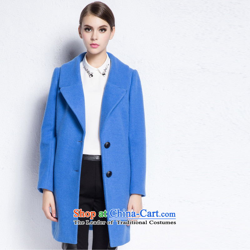 Arts _yiman Overgrown Tomb_ Blue Coat燳867B4056C05 stylish and elegant L