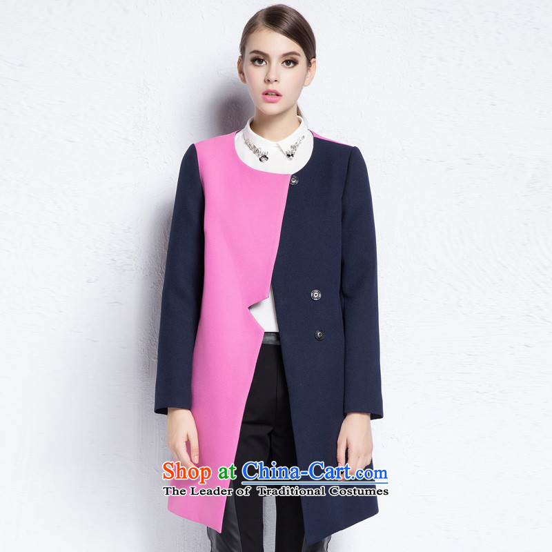 Hayek terrace _MAXILU_ Navy trendy jacket燤667C3010C46 L