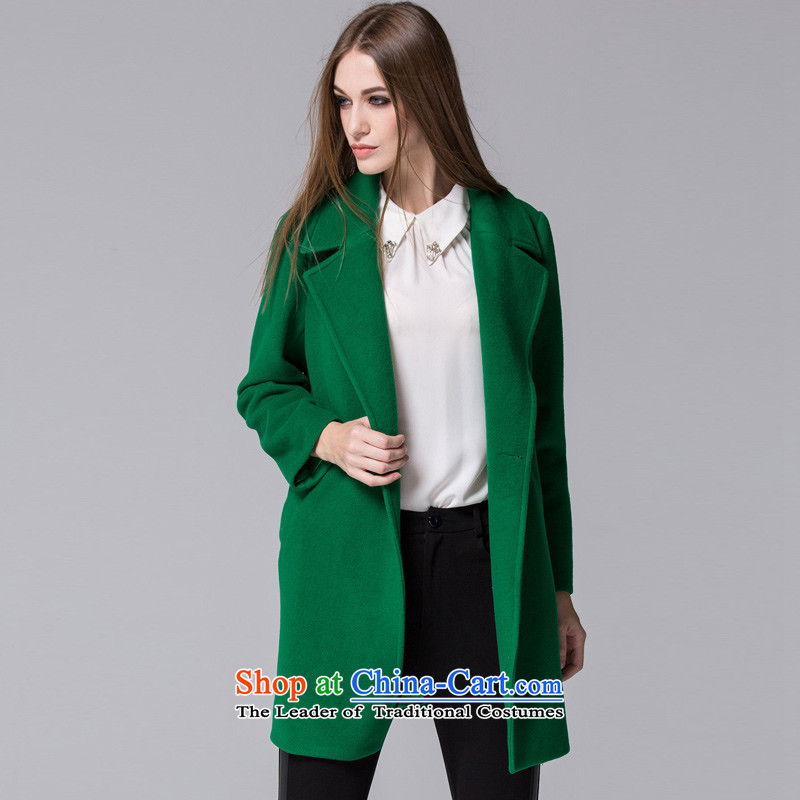 Arts _yiman Overgrown Tomb_ Green stylish and simple燳867A5001C07 coats XL