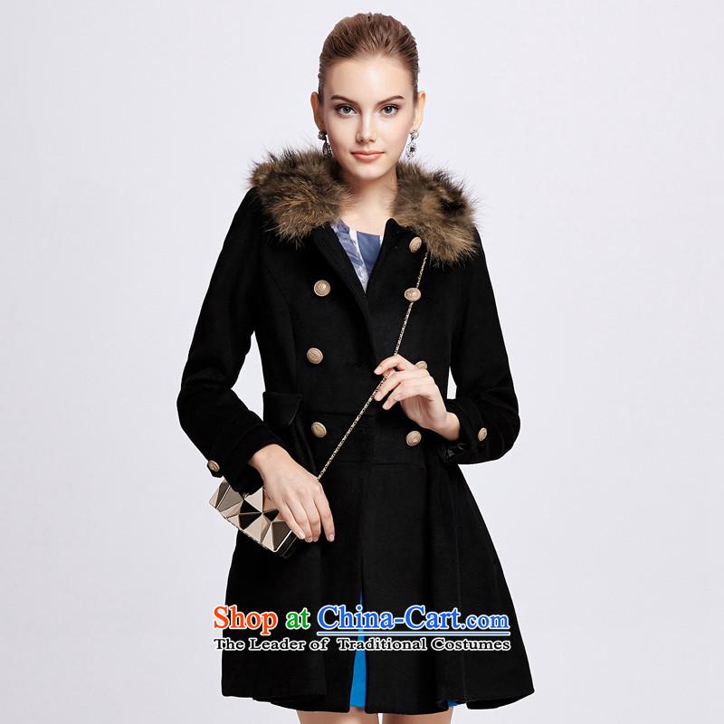 Chaplain Mai-mai (CHIU SHUI) Double-Gross Gross for coats blackM 1343C122219?