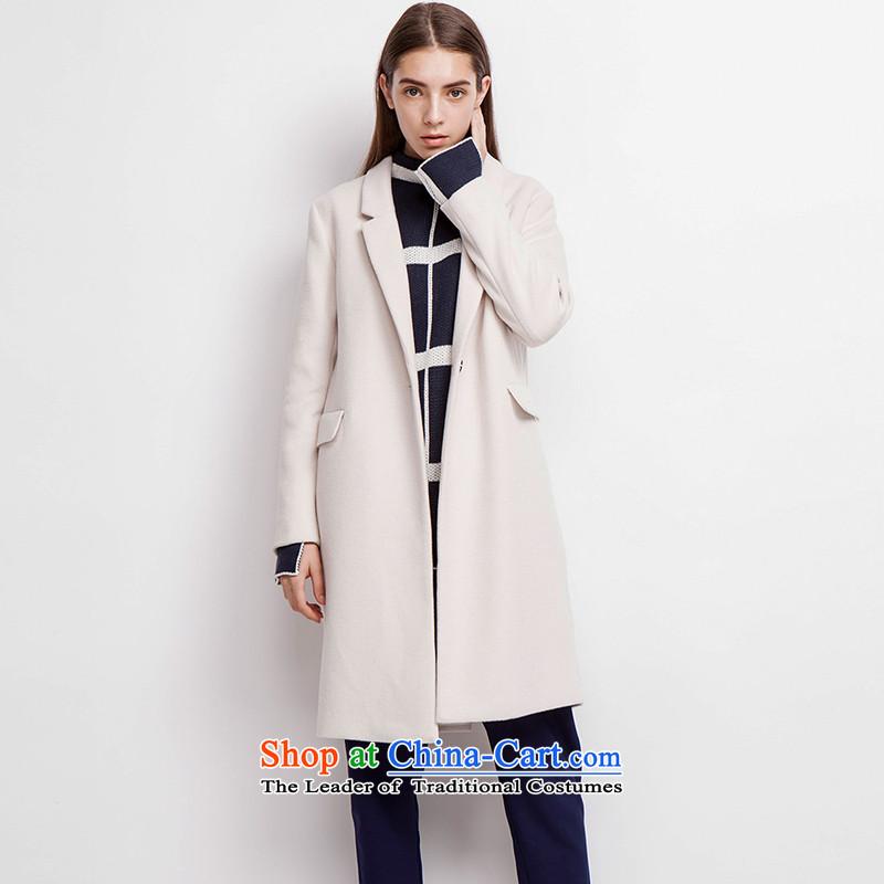 Energy for narrow _EUROPRIMO_ dispatch minimalist coats燛UEQD506 gross?燽eige燤