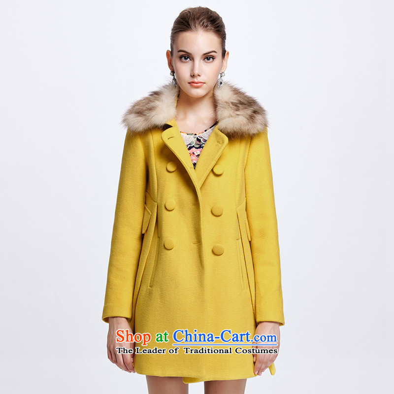 Chaplain Mai-mai _CHIU SHUI_ Nuclear Sub gross coats yellow XXL 1344S122021?