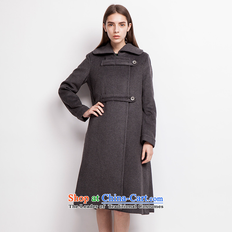 Send a lapel _EUROPRIMO_ energy field detained long coats EUEQD510 gross? carbon group L