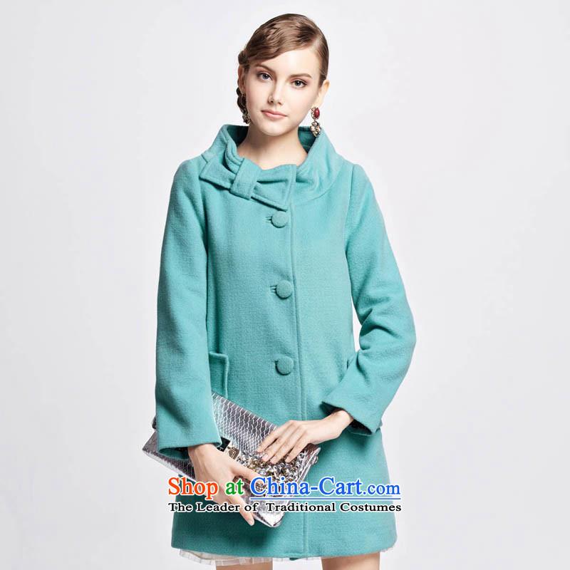 Chaplain Mai-mai _CHIU SHUI_ Bow Tie gross coats blue L 1344F122225?