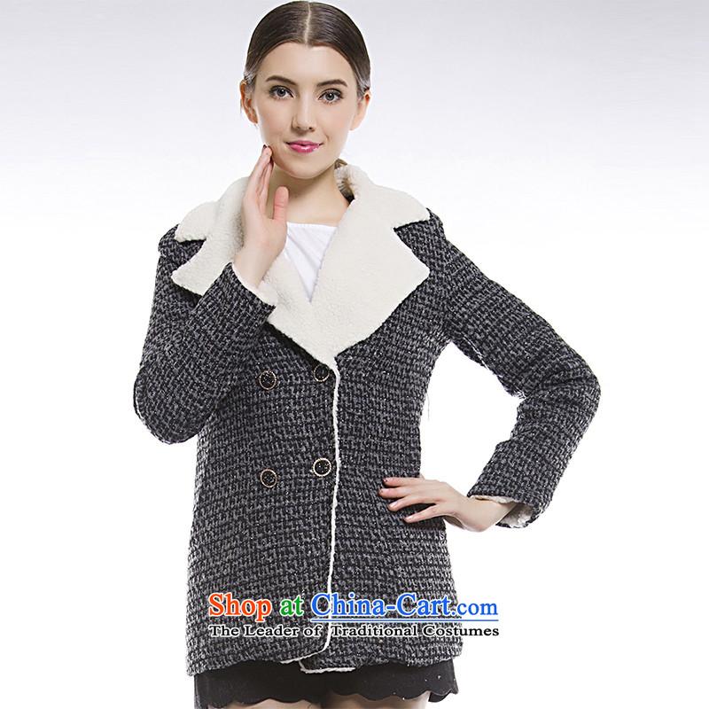 Blue silk Doi _gross_? jacket lansda燣20026D2爂ray_black燣