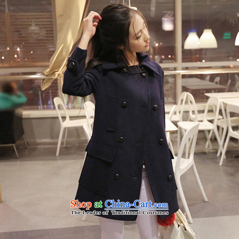 Joseph Sija (sessthea) coats, double-coats W321 Tibetan blue L