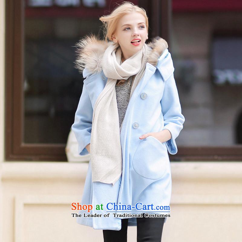 燦uclear Sub gross QIGIRL really washable wool coat燪G1129?燬 2,005