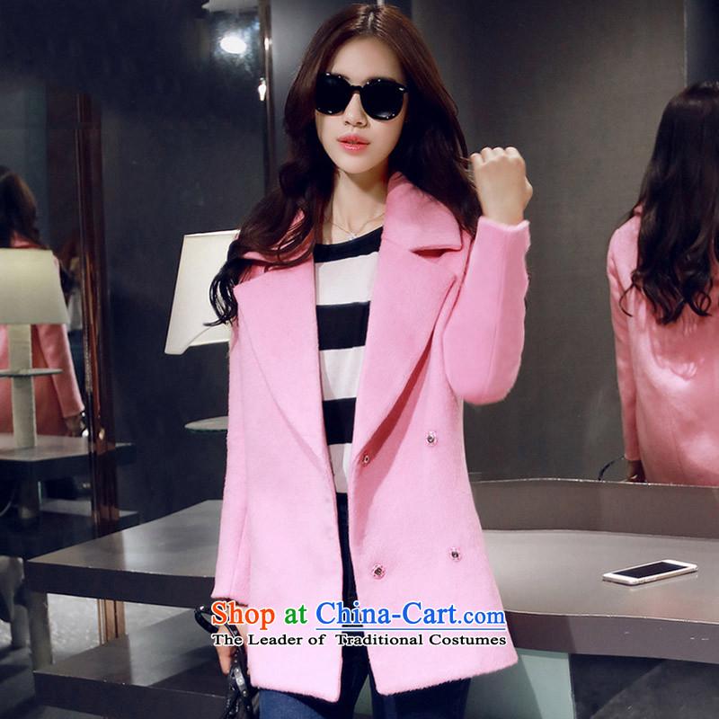 Joseph Sija _sessthea_ lapel coats coats W6818 gross? pink L