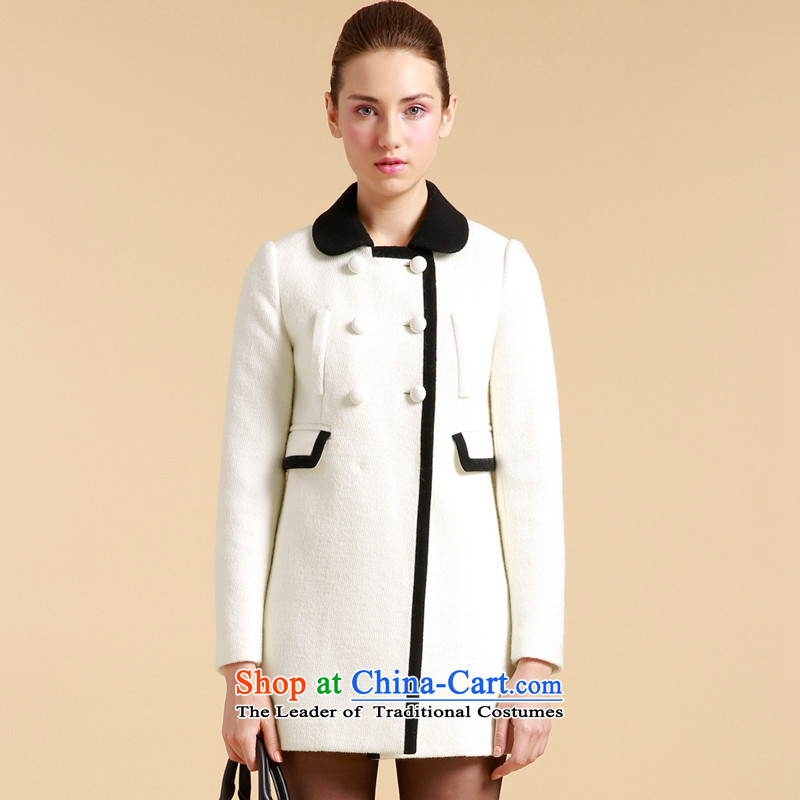 Song Leah GOELIA __ pocket port collision? The jacket?W03_ color M L 13CJ6EA30W03L White