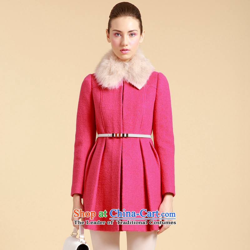 Song Leah GOELIA _winter_ female pure color coats that long-jacket R89__? 13CC6E020R89L PEACH L