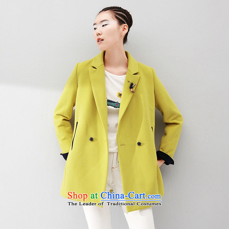 The early Arabic gross? coats that long loose video a thin coat 8531224804 TURMERIC L