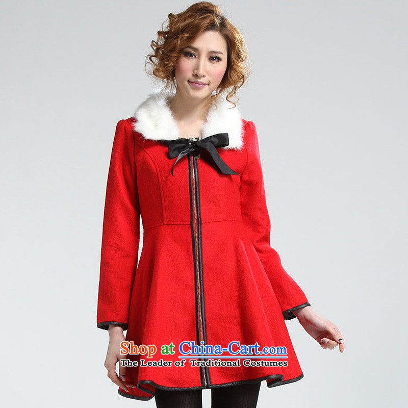The colors _nase_ female jackets NA10154B2 RED M