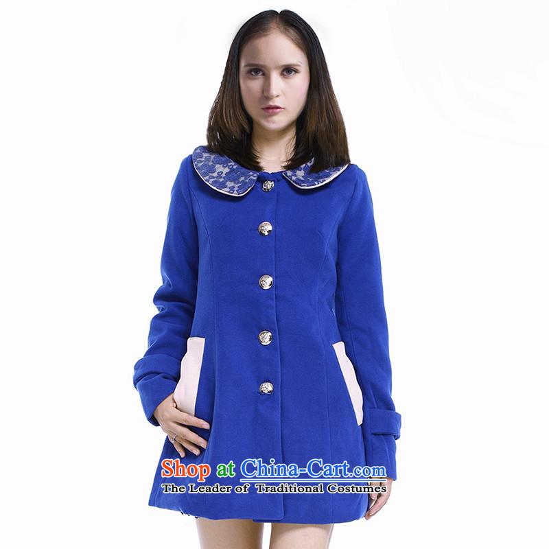 The colors _nase_�314003024 gross Sau San? jacket燽lue燬