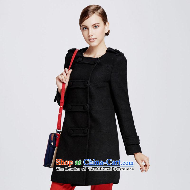 Chaplain Mai-mai _CHIU SHUI_ Double-straight-barrel. long coats black 1341S122029 _M