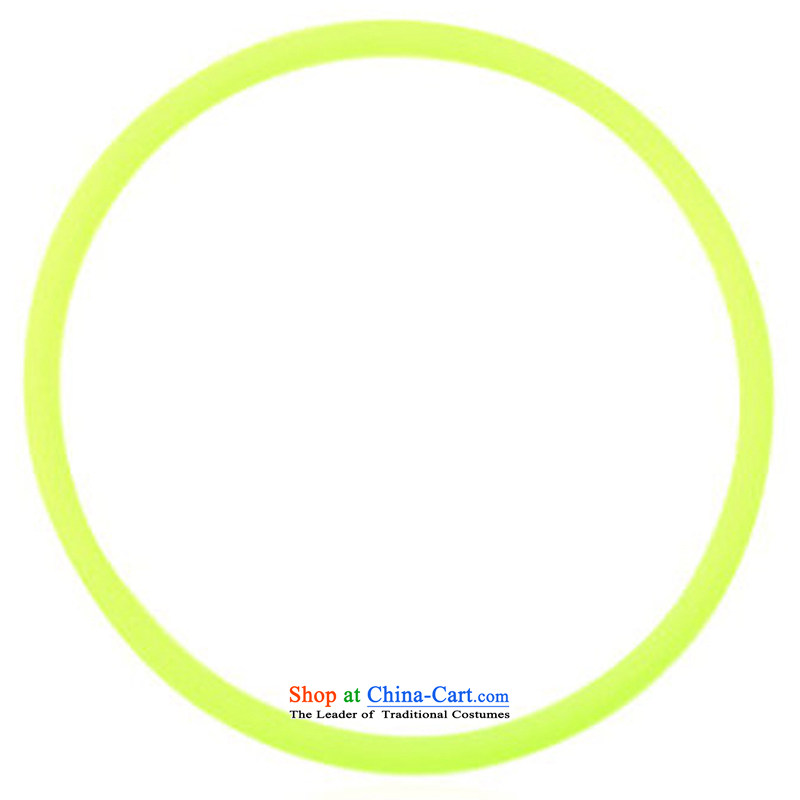 There is a property of the Chinese-made of twine fluorescent ring twine wrap hair rubber bands to UNCED ornaments ordinary_ _ yellow