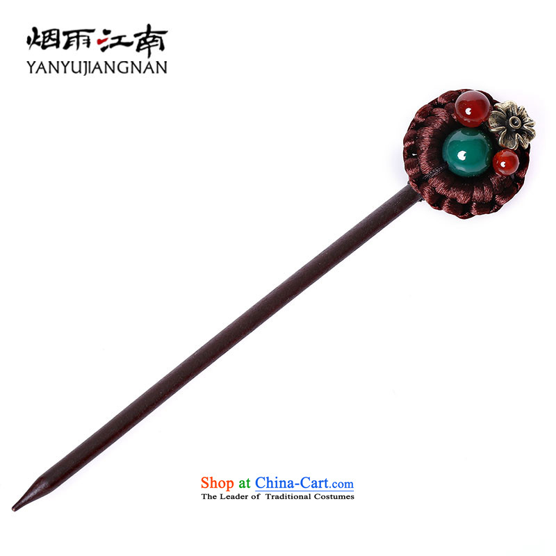 Gangnam-gu rainy wood from the game by Ornate Kanzashi ancient style reminiscent of the flow of disc Su, manual Classic