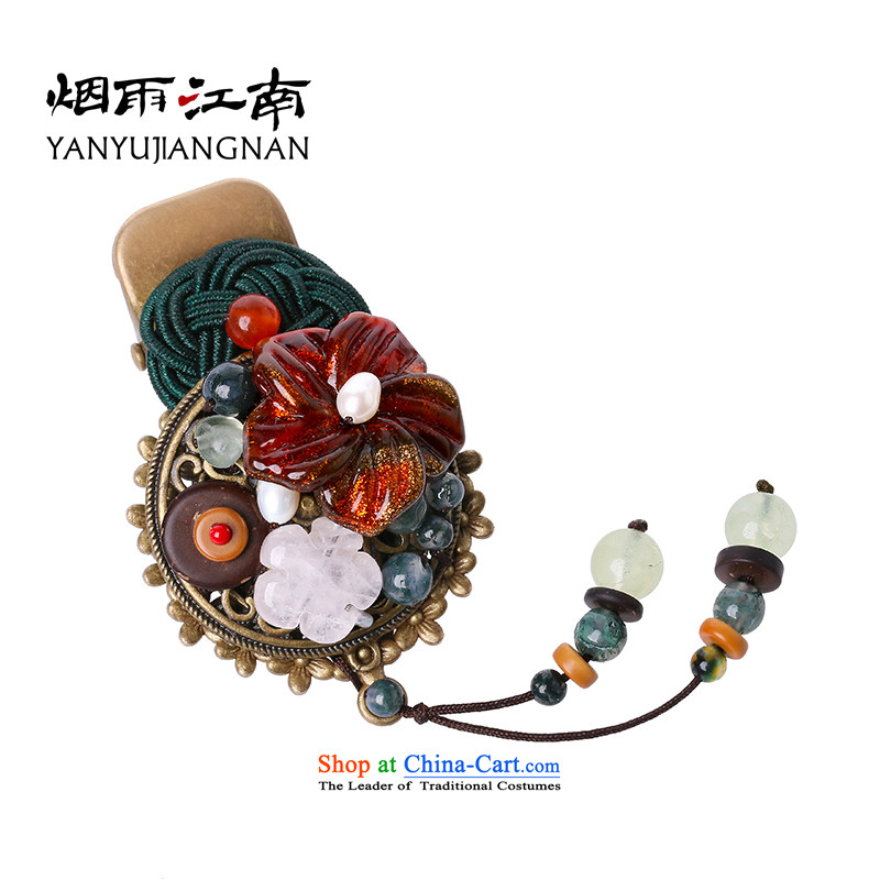 Gangnam-gu rainy retro ethnic hairclips ancient limelight Trim Clips Female summer picture_