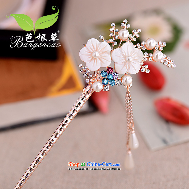 Barbara grass ancient wind hair decorations edging Ornate Kanzashi Korean classic rock and Ornate Kanzashi's sub-step of sending women head ornaments most sub BGC-734 color