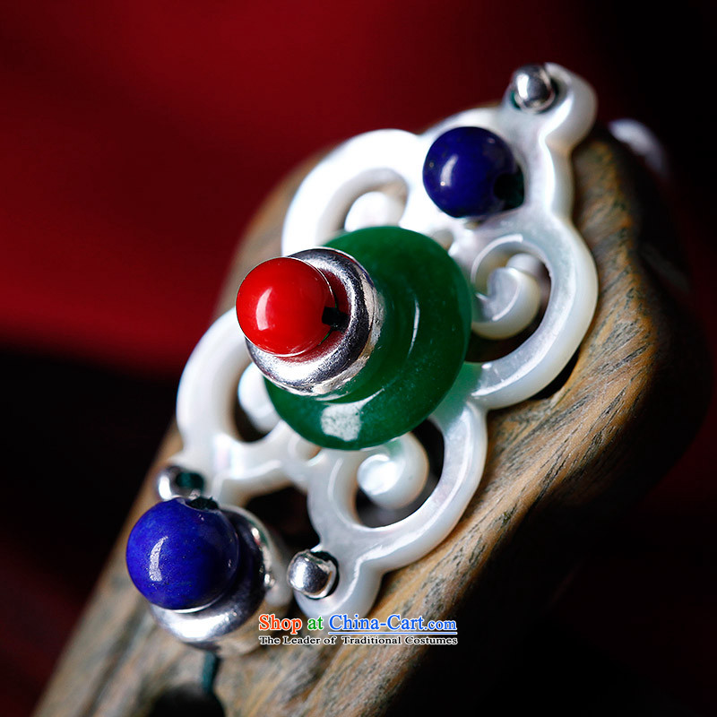 Phoenix Nirvana ancient style green's Ornate Kanzashi female classical ethnic lapis disc from the game by Ornate Kanzashi sub-head ornaments, ancient manual Phoenix Nirvana , , , shopping on the Internet
