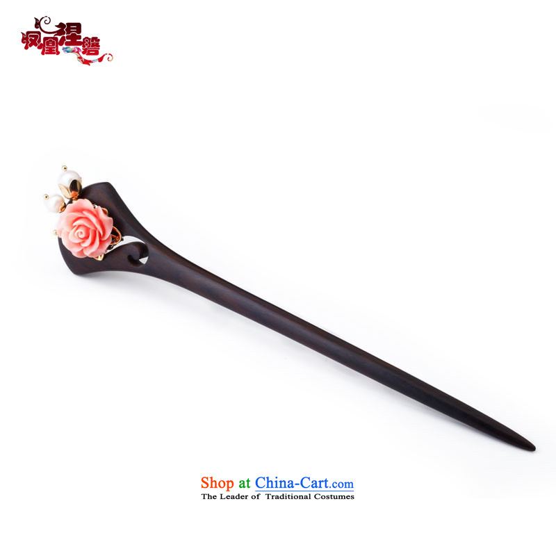 Phoenix Nirvana classical dark wood from the game by Ornate Kanzashi female ancient style and would continue to step pearl of ethnic, disk by Ornate Kanzashi sub-Head Ornaments