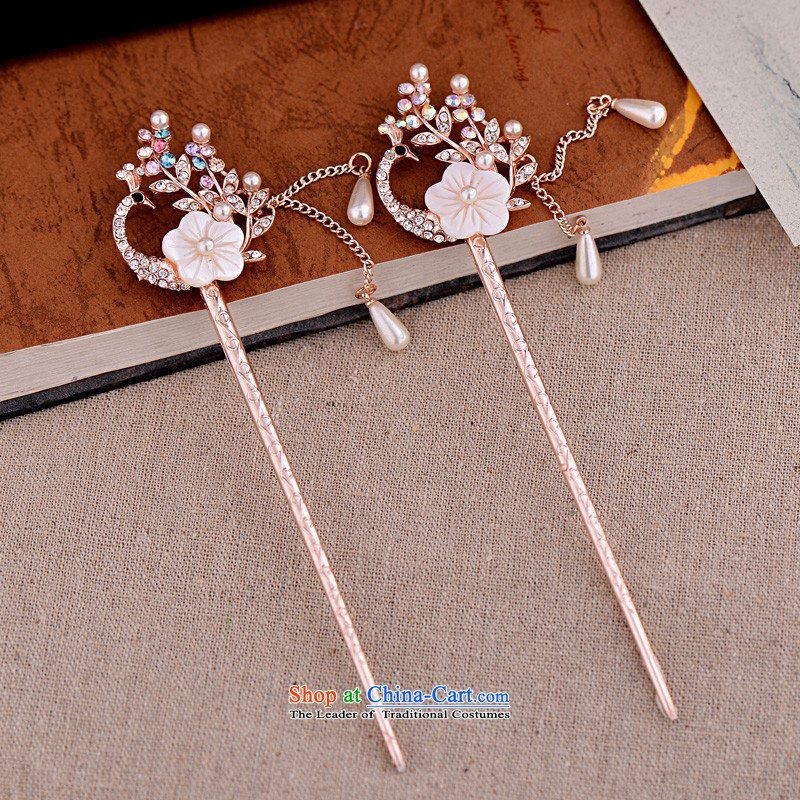 Barbara grass was adorned with ancient Head Ornaments by Ornate Kanzashi classical edging kanzashi sub-step, the ancient style of Korean womenBGC-1205 disk sentwhite, hip grass (bagencao) , , , shopping on the Internet