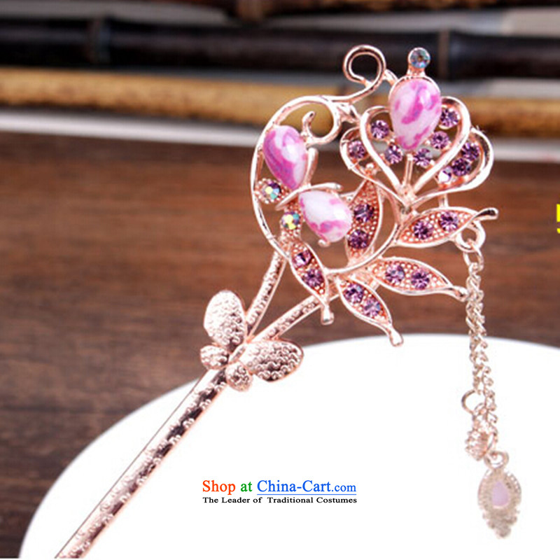 Whimsical and Ornate Kanzashi ancient disc from the game by Ornate Kanzashi sub-step classical national extension plus tough service diamond minimalist furnishings and purple