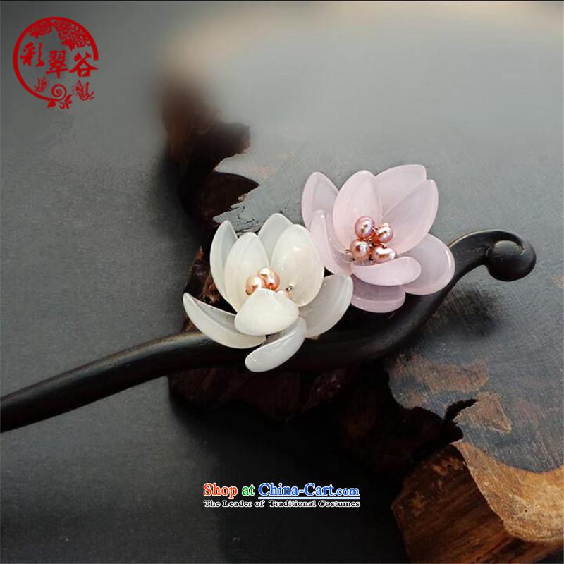 Multimedia verdant valleys classical Chinese jade ornaments disk sent rosewood Mulan Kanzashi sub gift