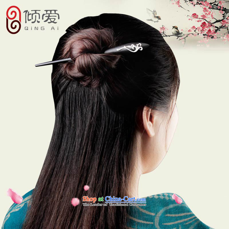 The Dumping love ebony step, ancient style by Ornate Kanzashi disk sent 925 silver hair decorations classical manually transfer sub girlfriend kanzashi gift cloud the Kanzashi shu and the Dumping Love , , , shopping on the Internet